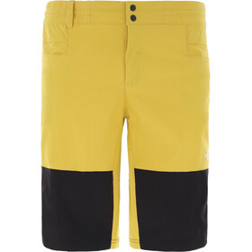 The North Face Climb Shorts Herren bamboo yellow/tnf black